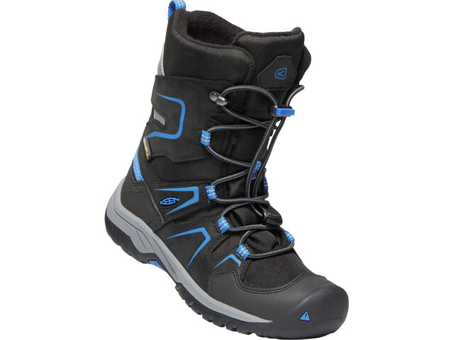 Keen Levo WP Winter Shoes Barn black/baleine blue